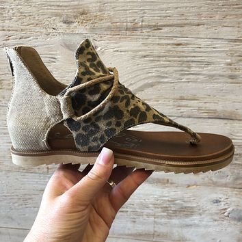 Very G Leopard Sparta Sandal