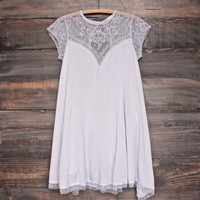 Embellished Trapeze Dress - more colors