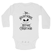 The Nightmare Before Christmas FUNNY KIDS Onesuit