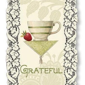 Heritage Lace Sandy Clough Inspirational Lace Wall Hangings Grateful Thankful Blessed