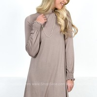 Terry Taupe Dress