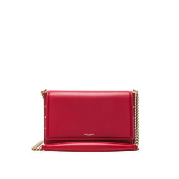 Saint Laurent Zoe Chain Bag in Eros Red | FWRD