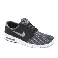 Nike SB Stefan Janoski Max Black & Gray Shoes - Mens Shoes - Black
