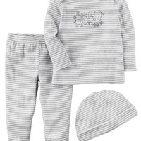 3-Piece Certified Organic Take-Me-Home Set