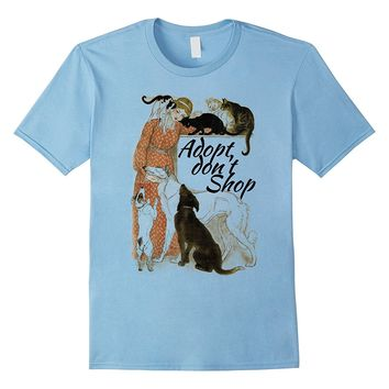 Adopt Don't Shop Animal Rescue T-Shirts For Animal Lovers
