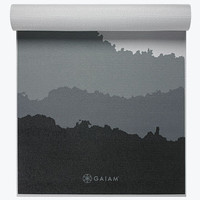 Premium Granite Mountains Yoga Mat (5mm) - Gaiam