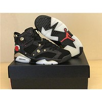 Air Jordan 6 Retro CNY basketball shoes sneakers 2018 high cut sports shoes sizes 5.5-13