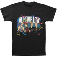 All Time Low Men's  Sup Bra T-shirt Black