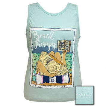 Girlie Girl Southern Originals Preppy Beach Therapy Tank Top