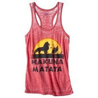 Juniors Hakuna Graphic Tank - Red