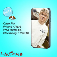 One Direction,Niall Horan---iphone 4 case,iphone 5 case,ipod touch 4 case,ipod touch 5 case,in plastic,silicone