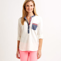 Shop Embroidered Knit Popover at vineyard vines