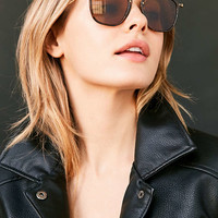 Ray-Ban Square Flat Lens Sunglasses - Urban Outfitters