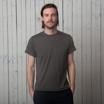 The Signature T - Short Sleeve   Brushed Charcoal Jersey