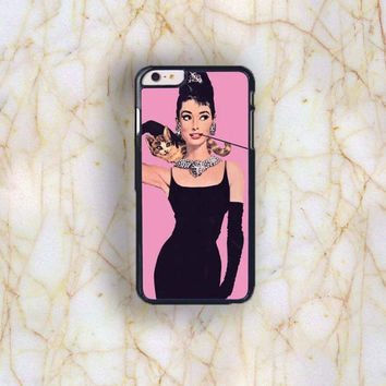 Dream colorful Dream colorful Audrey Hepburn Plastic Case Cover for Apple iPhone 6 Plus 4 4s 5 5s 5c