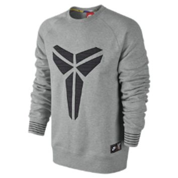 Nike Kobe AW77 Crew Men's Sweatshirt Size XL (Grey)