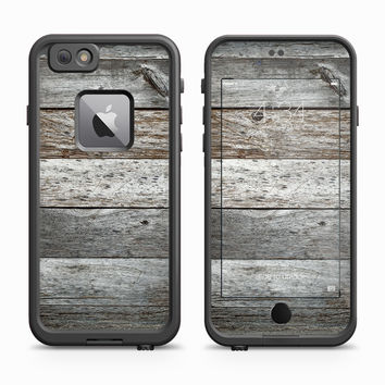 Alternating Wood Pallet Skin for the Apple iPhone LifeProof Fre Case