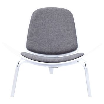 Shell Chair Steel Gray