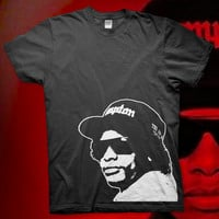 Eazy E - High Quality Screen Printed T Shirt - Easy Does It NWA Dr. Dre Ice Cube Compton