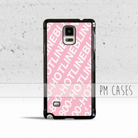 Hotline Bling Case Cover for Samsung Galaxy S3 S4 S5 S6 Edge Plus Active Mini Note 1 2 3 4 5