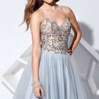 Mesh and Tulle Dress by Terani Couture Prom