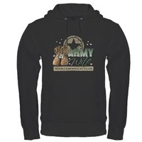 Army Wife supporting Hoodie (dark)> Army Wife supporting > militaryprideshop.com