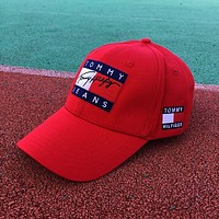 Tommy Women Men Pure cotton baseball cap