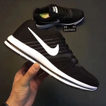 Nike :Knitted slow vibration ventilation shoes