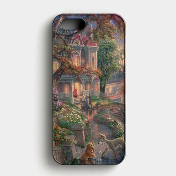 Lady And The Tramp Disney iPhone SE Case