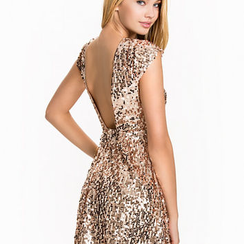 Sequin Skater Dress, NLY One