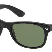 Cheap Ray-Ban Sunglasses RB 2132 New Wayfarer Black Green Polarized Lens 52mm Italy outlet