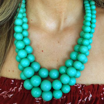 Best All Around Necklace: Mint Green