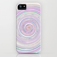 Re-Created Spin Painting No. 26 iPhone & iPod Case by Robert Lee