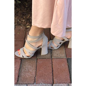 Everly Heels - Taupe
