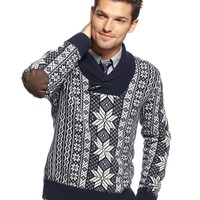 Tommy Hilfiger Benson Shawl Collar Sweater