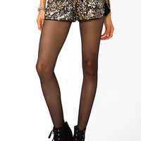 Sequined Dolphin Shorts