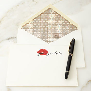 Parker Thatch XOXO Personalized Notecards