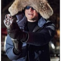 Captain Cold Fur Collar Coat