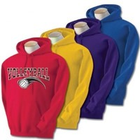 Sports Katz Women's Zebra Volleyball Hoodie
