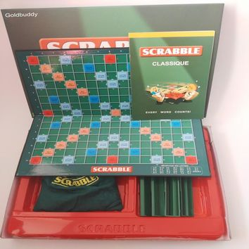 Goldbuddy Quality French Scrabble Games Spelling Learning Education Letter Games SC-004