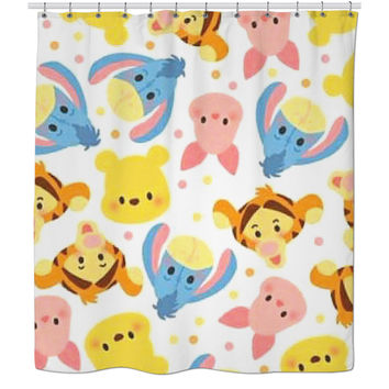 Whinny The Pooh Shower Curtain