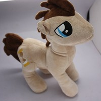 "My little Pony Friendship is Magic Figure Dr Whooves 11"" Plush Doll Toy"