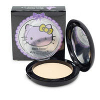 Music Flower Face Makeup Brand HELLO KITTY Style Pressed Powder Facial Powder Contour Foundation Whitening Concealer Cosmetics