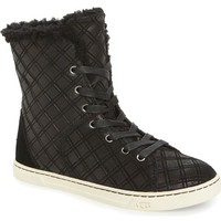 UGG® Croft Double Diamond High Top Sneaker (Women) | Nordstrom