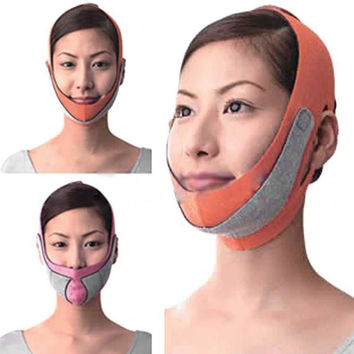 Health Care Thin Face Mask Slimming Facial Thin Masseter Double Chin Skin Care Thin Face Bandage Belt LE4 SM6