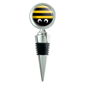 Bumble Bee Party Girl Birthday Wine Bottle Stopper