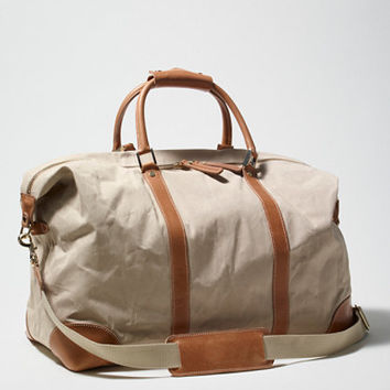 Signature Waxed-Canvas Weekender: Bags and Totes | Free Shipping at L.L.Bean