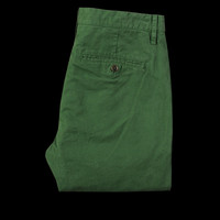 UNIONMADE - Todd Snyder - Tab Front Trouser Chino in Green