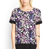 Stained Glass Woven Top