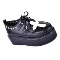cross front creepers